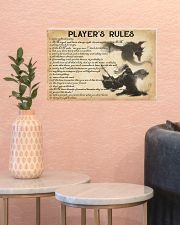 PLAYER'S RULES 17x11 Poster poster-landscape-17x11-lifestyle-21