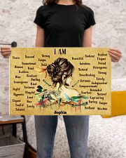 HIPPIE - I AM  - CUSTOM NAME 24x16 Poster poster-landscape-24x16-lifestyle-20