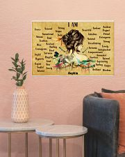 HIPPIE - I AM  - CUSTOM NAME 24x16 Poster poster-landscape-24x16-lifestyle-22