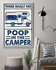 THOU SHALT NOT POO IN THE CAMPER 11x17 Poster lifestyle-poster-1