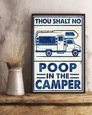 THOU SHALT NOT POO IN THE CAMPER 11x17 Poster lifestyle-poster-3