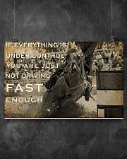 IF EVERYTHING IS UNDER CONTROL 17x11 Poster poster-landscape-17x11-lifestyle-12