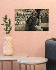 IF EVERYTHING IS UNDER CONTROL 17x11 Poster poster-landscape-17x11-lifestyle-21