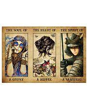 THE SPIRIT OF SAMURAI 17x11 Poster front