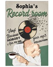 RECORD ROOM - CUSTOM NAME 11x17 Poster front
