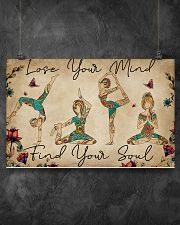 LOSE YOUR MIND FIND YOUR SOUL 17x11 Poster poster-landscape-17x11-lifestyle-12