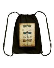 BE BRAVE BE BOLD BE KIND Drawstring Bag tile