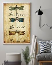 BE BRAVE BE BOLD BE KIND 11x17 Poster lifestyle-poster-1