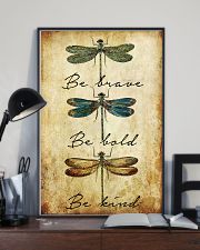 BE BRAVE BE BOLD BE KIND 11x17 Poster lifestyle-poster-2