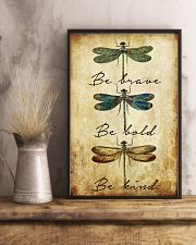 BE BRAVE BE BOLD BE KIND 11x17 Poster lifestyle-poster-3