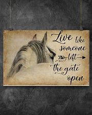 LIVE LIKE SOMEONE LEFT GATE OPEN 17x11 Poster poster-landscape-17x11-lifestyle-12