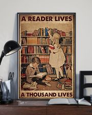 A READER LIVES A THOUSAND LIVES 11x17 Poster lifestyle-poster-2