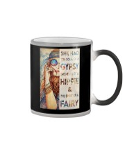 SHE HAS THE SOUL OF A GYPSY Color Changing Mug tile