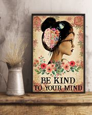 BE KIND TO YOUR MIND 11x17 Poster lifestyle-poster-3