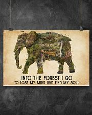 AND INTO THE FOREST I GO TO LOSE MY MIND  17x11 Poster poster-landscape-17x11-lifestyle-12
