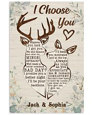 I CHOOSE YOU 11x17 Poster front