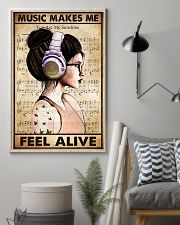MUSIC MAKES ME FEEL ALIVE 11x17 Poster lifestyle-poster-1