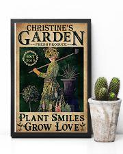 PLANT SMILES GROW LOVE - CUSTOM NAME 11x17 Poster lifestyle-poster-8
