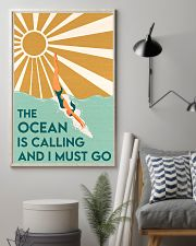THE OCEAN IS CALLING AND I MUST GO 11x17 Poster lifestyle-poster-1
