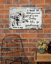 I WANT TO HOLD YOUR HAND AT 80 AND SAY 24x16 Poster poster-landscape-24x16-lifestyle-24