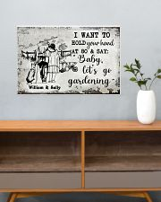 I WANT TO HOLD YOUR HAND AT 80 AND SAY 24x16 Poster poster-landscape-24x16-lifestyle-25
