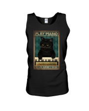 PLAY PIANO BECAUSE MURDER IS WRONG Unisex Tank tile