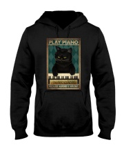 PLAY PIANO BECAUSE MURDER IS WRONG Hooded Sweatshirt tile