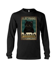 PLAY PIANO BECAUSE MURDER IS WRONG Long Sleeve Tee tile