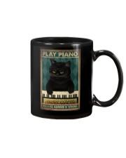 PLAY PIANO BECAUSE MURDER IS WRONG Mug tile
