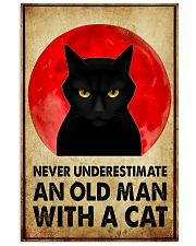 NEVER UNDERSTIMATE AN OLD MAN 11x17 Poster front