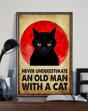 NEVER UNDERSTIMATE AN OLD MAN 11x17 Poster lifestyle-poster-2