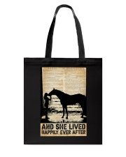 AND SHE LIVED HAPPILY EVER AFTER Tote Bag tile