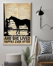 AND SHE LIVED HAPPILY EVER AFTER 11x17 Poster lifestyle-poster-1