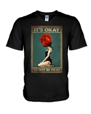 IT'S OKAY TO NOT BE OKAY V-Neck T-Shirt tile