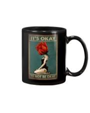 IT'S OKAY TO NOT BE OKAY Mug tile