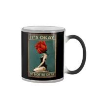 IT'S OKAY TO NOT BE OKAY Color Changing Mug tile