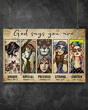 GOD SAYS YOU ARE 17x11 Poster poster-landscape-17x11-lifestyle-12