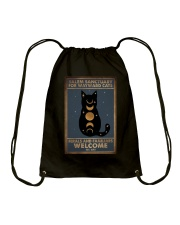 SALEM SANCTUARY FOR WAYWRD CATS Drawstring Bag tile
