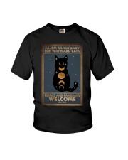 SALEM SANCTUARY FOR WAYWRD CATS Youth T-Shirt tile
