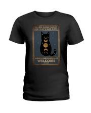 SALEM SANCTUARY FOR WAYWRD CATS Ladies T-Shirt tile