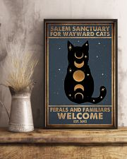 SALEM SANCTUARY FOR WAYWRD CATS 11x17 Poster lifestyle-poster-3