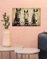 LIVE LIKE SOMEONE LEFT GATE OPEN 17x11 Poster poster-landscape-17x11-lifestyle-21