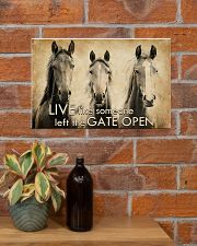 LIVE LIKE SOMEONE LEFT GATE OPEN 17x11 Poster poster-landscape-17x11-lifestyle-23