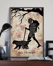 HIKING GIRL AND DOG - CUSTOM NAME 11x17 Poster lifestyle-poster-2
