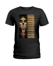GOD SAYS YOU ARE Ladies T-Shirt tile