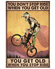 YOU DON'T STOP RIDE 11x17 Poster front