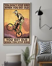 YOU DON'T STOP RIDE 11x17 Poster lifestyle-poster-1