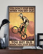 YOU DON'T STOP RIDE 11x17 Poster lifestyle-poster-2