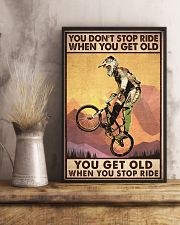 YOU DON'T STOP RIDE 11x17 Poster lifestyle-poster-3