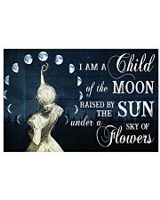 I AM A CHILD OF THE MOON 24x16 Poster front